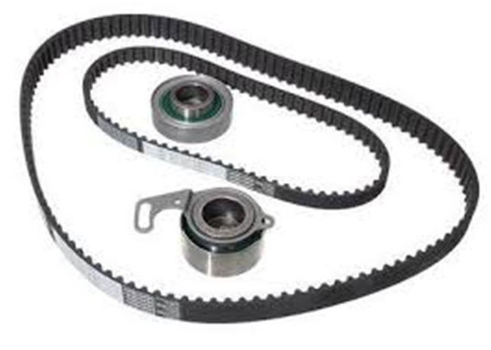 Rubber Toothed Timing Belt , Anti Aging Engine Timing Belt For Car Engine Fan supplier